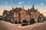 Postcard: Deutsche Buchhändlerbörse [head office of the Publishers' and Booksellers' Association] Leipzig
