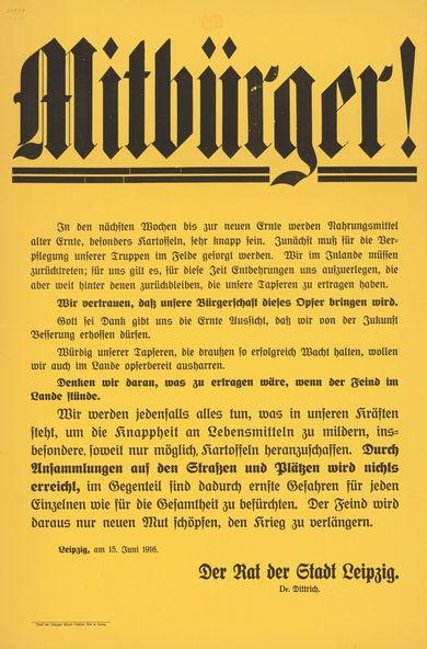 Appeal by the City of Leipzig